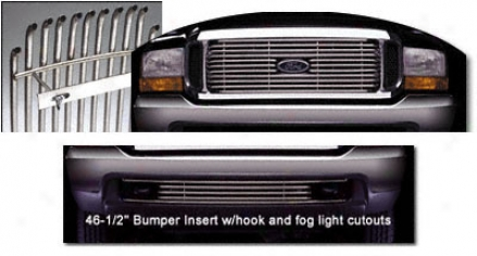 99-03 Ford Ecpedition Putco Bumper Valance Grille Insert 32104