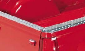 99-07 Silverado 1500 Deflecta-shielx Aluminum Tailgate Cap Protector