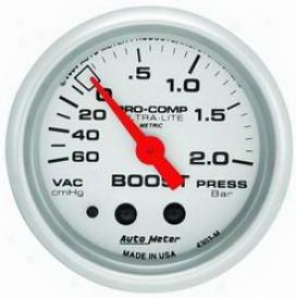 Auto Meter Boost/vacuum Gauge 4303m