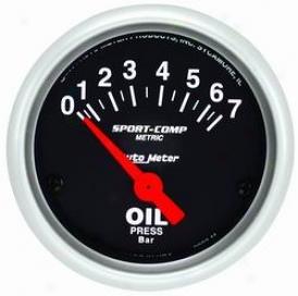 Auto Meter Oil Pressure Gauge 3327m