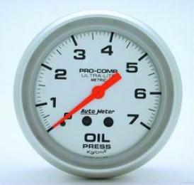 Auto Meter  Oil Pressure Gauge 4421j