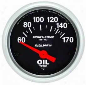 Auto Meter Oil Temperature Gauge 3348m