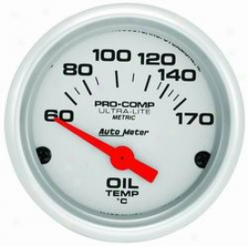 Auto Meter Oil Temperature Gauge 4348m