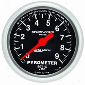 Auto Meter Pyrometer Measure 3344m