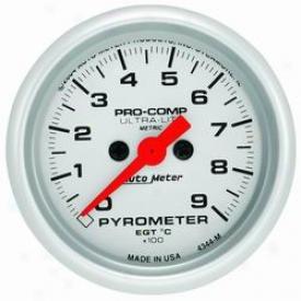 Auto Meter  Pyrometer Gauge 4344m