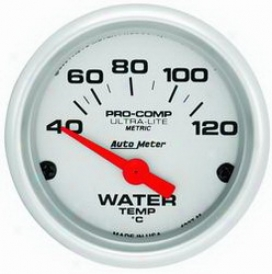 Auto Meter Water Temperature Measure  4337m