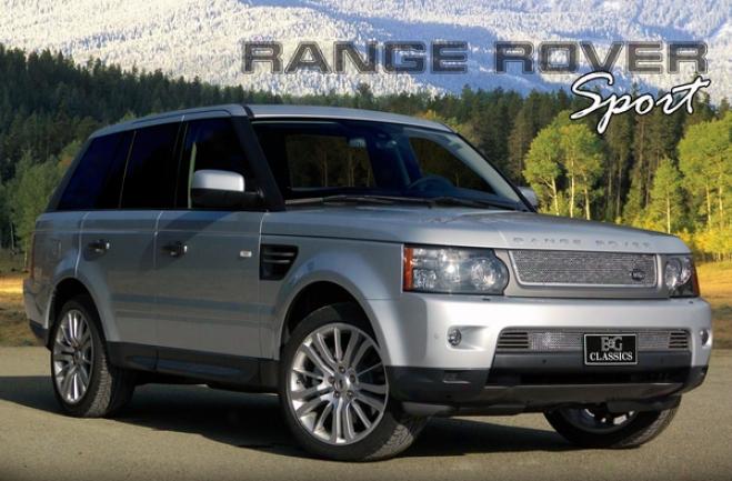 E&g Classics 2010 Range Rover Sport Stainless Fine Mesh Overlay Grille