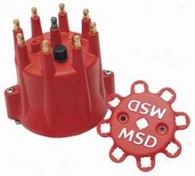 Msd Ignition  Distributor Cap8 433