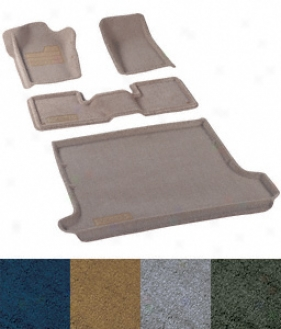 Nifty  Floor Mat: 2003-2004 Ch3vrolet Tahoe 2003-2004 Gmc Yukon; Catch All Premium Floor Protection; With