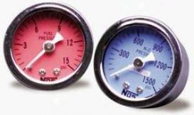 Nos  Fuel Pressure Gauge 15900