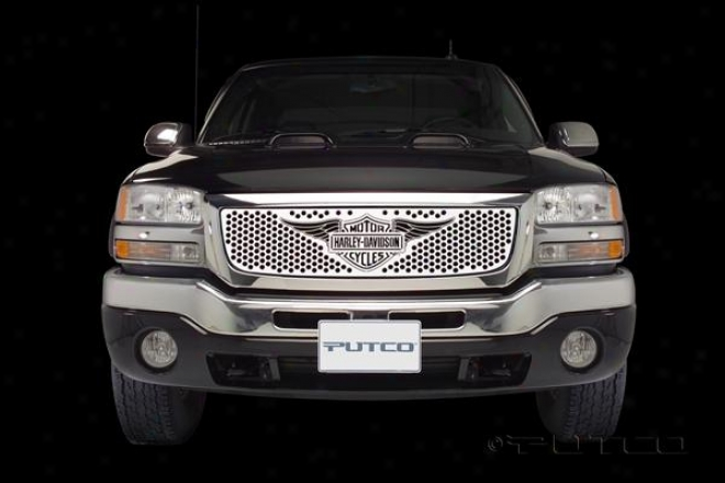 Putco Putco Grille Insert - Punch With Wings Logo 56138
