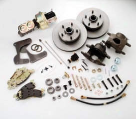 Stainless Steel Brakes  Disc Brake Pad/caliper And Rotor Kit A1292