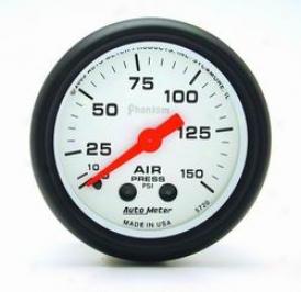 Universal Universal Auto Meter Air Pressure Gauge 5720