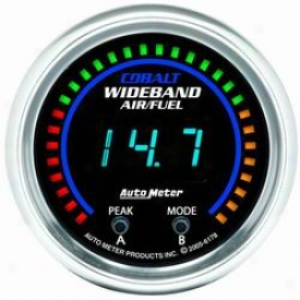 Universal Universal Auto Meter Air/fuel Ratio Gauge 6178