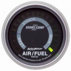 Universal Universal Auto Meter Air/fuuel Ratio Gauge 3675