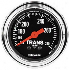 Universal Universal Auto Meter Auto Trans Oil Temperature Gauge 2451