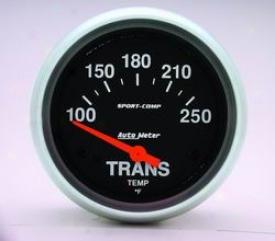 Universal Universal Auto Meter Auto Tranns Oil Temperature Gauge 3552