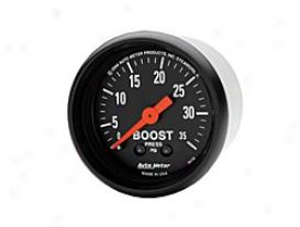 Universal Universal Auto Meter Boost Gauge 2616