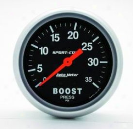 Universal Universal Auto Meter Boost Measure  3404