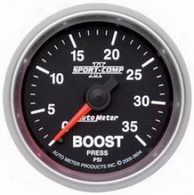 Universal Universal Auto Meter Boost Gauge 3604