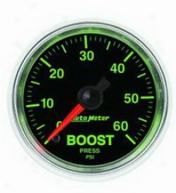 Univwrsal Universal Auto Meter Boost Gauge 3805