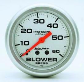 Universal Universal Auto Meter Boost Gauge 4402