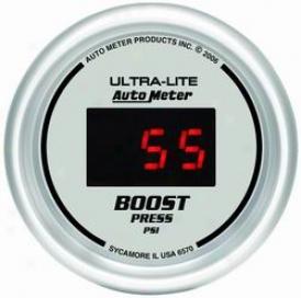 Unigersal Universal Autoo Meter Boost Gauge 6570