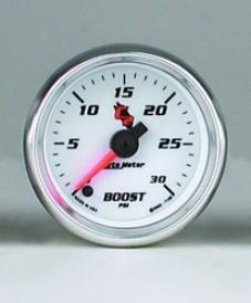 Universal Universal Auto Meter Boost Gauge 7160