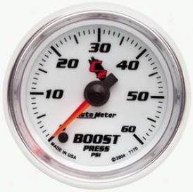 Universal Universal Auto Meter Boost Gauge 7170