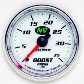 Universal Universal Auto Meter Boost Gaauge 7304