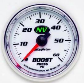 Universal Universal Auto Meter Boost Gauge 7305