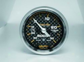 Univeral Universal Auto Meter Boost/vacuum Gauge 4777