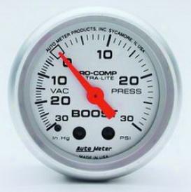 Universal Universal Auto Meter Boost/vacuum Gauge 4403