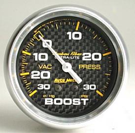 Universal Universal Auto Meter Boost/vacuum Gauge 4803