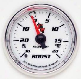 Universal Universal Auto Meter Boost/vacuum Gauge 7107