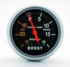 Universal Universal Auto Meter Boost/vacuum Gauge 3401