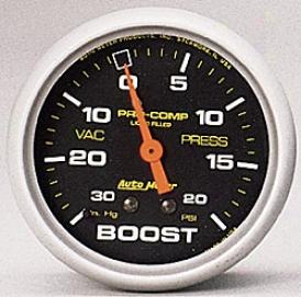 Universal Universal Auto Meter Boost/vacuum Gauge 5401