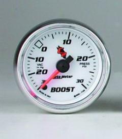Universal Universal Auto Meter Boos/vacuum Gauge 7159