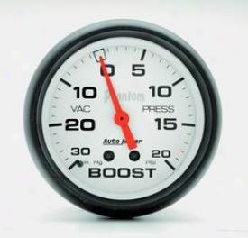 Universal Universal Auto Meter Boost/vacuum Gauge 5801