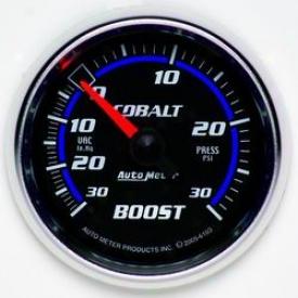 Univrrsal Universal Auto Meter Boost/vacuum Gauge 6103