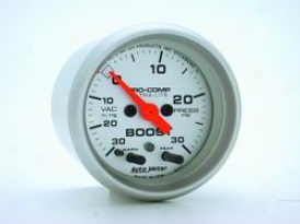 Universal Universal Auto Meter Boost/vacuum Gauge 4377