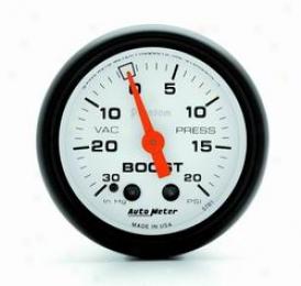 Universal Universal Auto Meter Boost/vacuum Gauge 5701