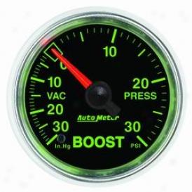 Universal Uinversal Auro Meter Boost/vacuum Gauge 3803