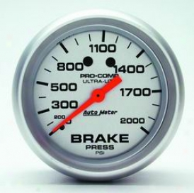 Universal Universal Auto Meter Brake Pressure Gauge 4426