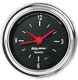 Universal Universal Auto Meter Clock 2585