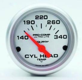 Universal Universal Auto Meter Cylinder Head Temperature Gauge 4336