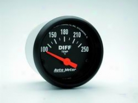 Universal Universal Auto Meter Differential Temperature Gauge 2636