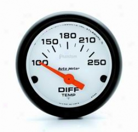 Universal Univetsal Auto Meter Differential Temperature Gauge 5749