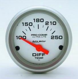 Universal Universal Auto Meter Differential Temperature Gauge 4349