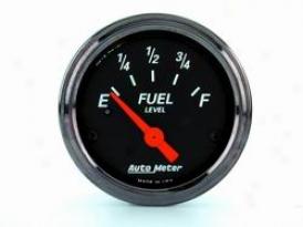Universal Universal Auto Meter Fuel Gauge 1417